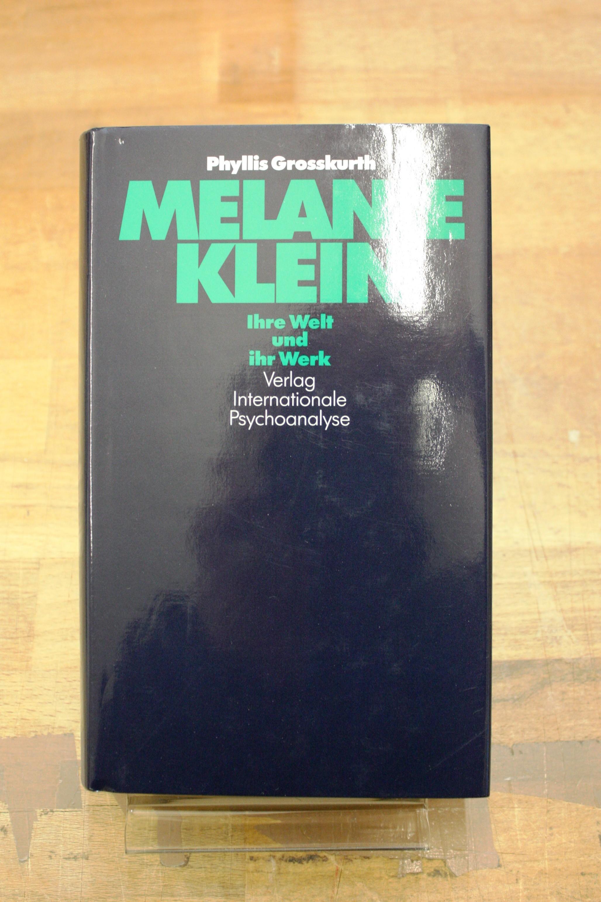 Melanie Klein Leben und Werk - Grosskurth, Phyllis