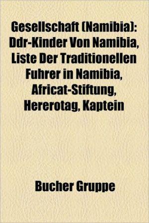 Gesellschaft (Namibia) - B Cher Gruppe (Editor)