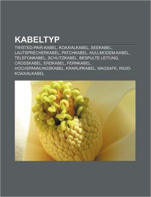 Kabeltyp - B Cher Gruppe (Editor)