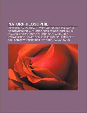 Naturphilosophie - B Cher Gruppe (Editor)