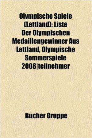 Olympische Spiele (Lettland) - B Cher Gruppe (Editor)