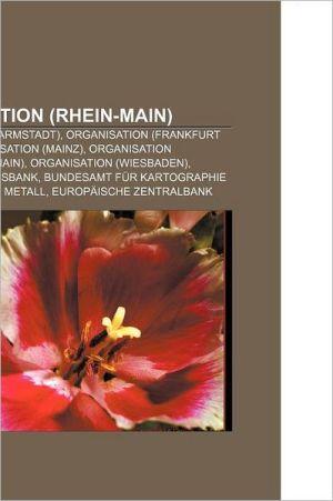 Organisation (Rhein-Main) - B Cher Gruppe (Editor)