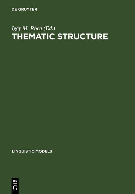 Thematic Structure als eBook Download von