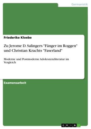 Akademische Schriftenreihe: Zu Jerome D. Salingers
