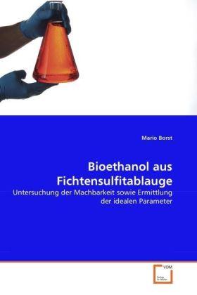 Bioethanol aus Fichtensulfitablauge - Untersuchung der Machbarkeit sowie Ermittlung der idealen Parameter - Borst, Mario