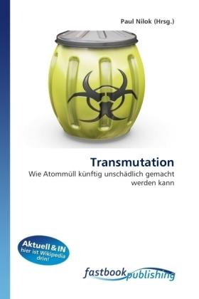 Transmutation - Wie Atommüll künftig unschädlich gemacht werden kann - Nilok, Paul