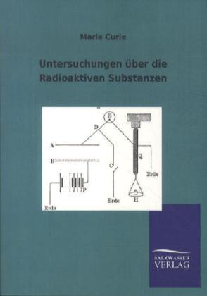 Untersuchungen über die Radioaktiven Substanzen - Curie, Marie