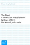 Charles Henry Mackintosh: The Great CommissionMiscellaneous Writings of C. H. Mackintosh, volume IV