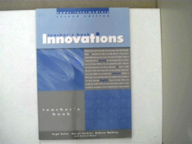 Innovations - upper-intermediate - Teacher's book;, - Autorenkollektiv