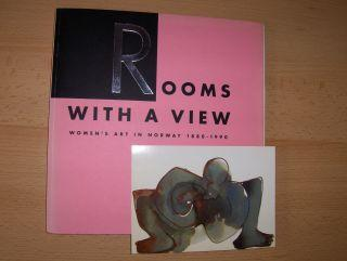 Rooms with a view / Zimmer mit Aussicht *. Women`s Art in Norway 1880-1990 / Frauenkunst in Norwegen 1880-1990. - Wichström, Anne, Jorunn Veiteberg Ursula H. Delourme (Übersetzung) a. o.