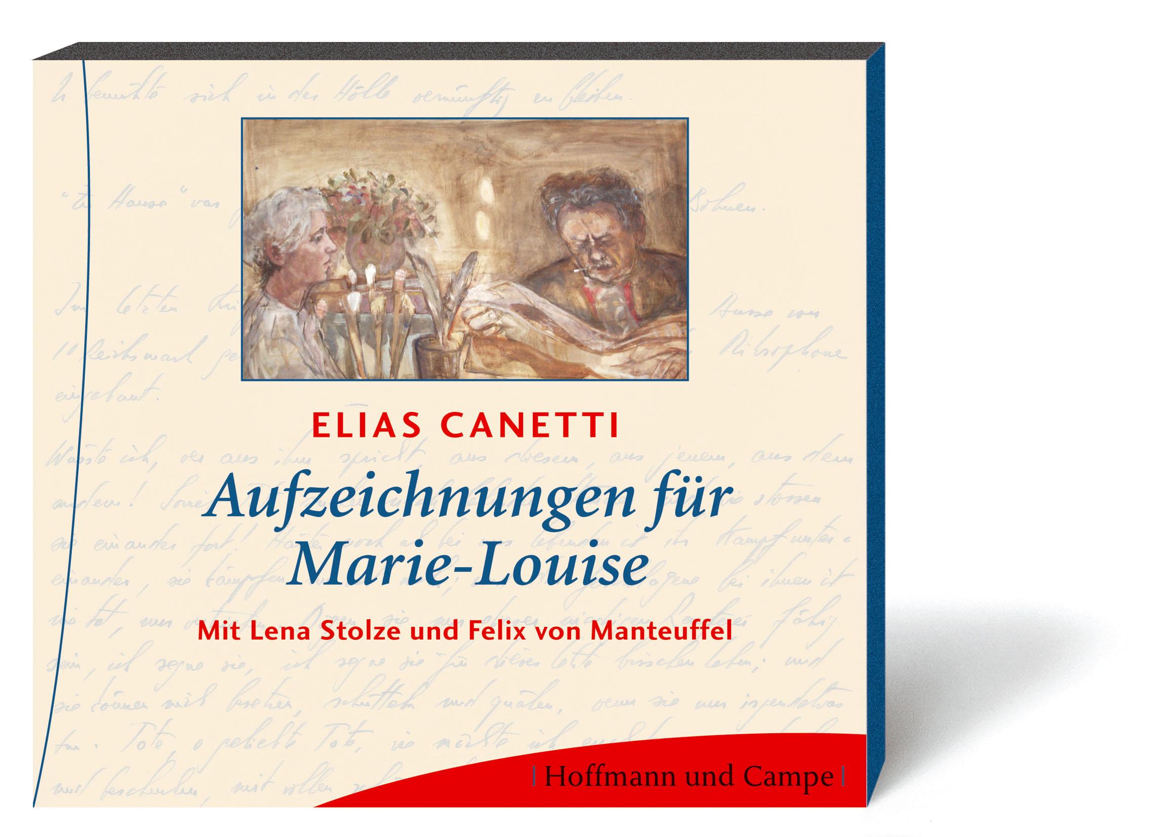 Aufzeichnungen für Marie-Louise - Elias Canetti