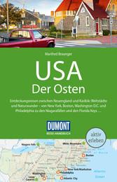 DuMont Reise-Handbuch Reiseführer USA, Der Osten - Manfred Braunger