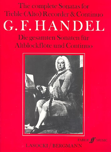 The complete Sonatas for treble - Händel, Georg Friedrich