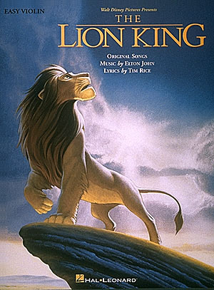 Lion King, The Instrumental -For Solo Easy Violin-: Noten für Violine
